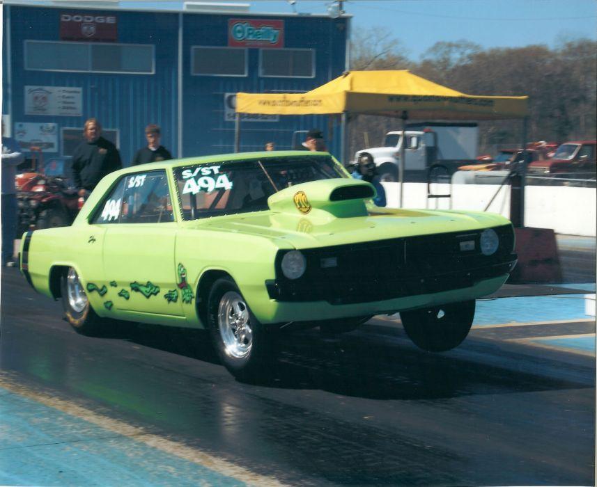 Dodge Dart muscle classic hot rod rods drag racing race     g wallpaper