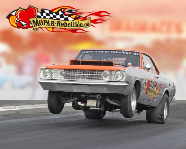 Dodge Dart muscle classic hot rod rods drag racing race b wallpaper