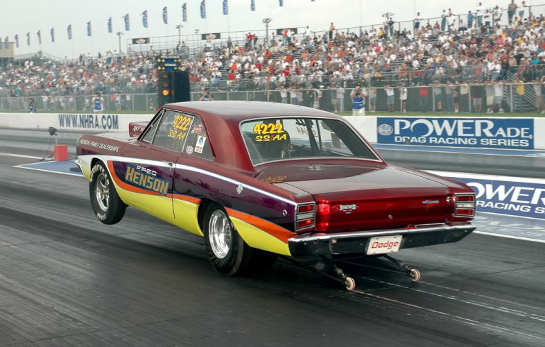 Dodge Dart muscle classic hot rod rods drag racing race f wallpaper