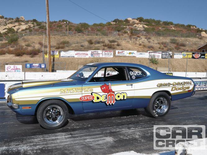 Dodge Demon muscle classic hot rod rods drag race racing g wallpaper