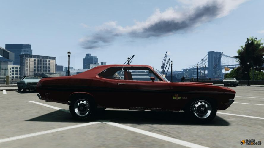 Dodge Demon muscle classic hot rod rods gta grand theft auto games g wallpaper