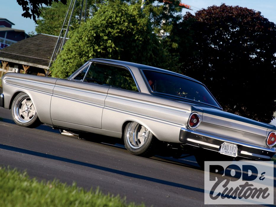 Ford Falcon muscle classic hot rod rods           g wallpaper