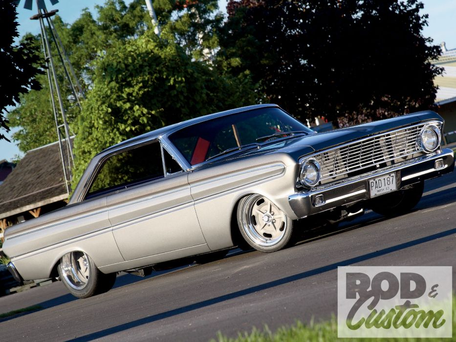 Ford Falcon muscle classic hot rod rods      f wallpaper