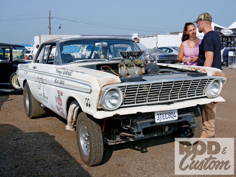 Ford Falcon muscle classic hot rod rods drag race racing engine      f wallpaper