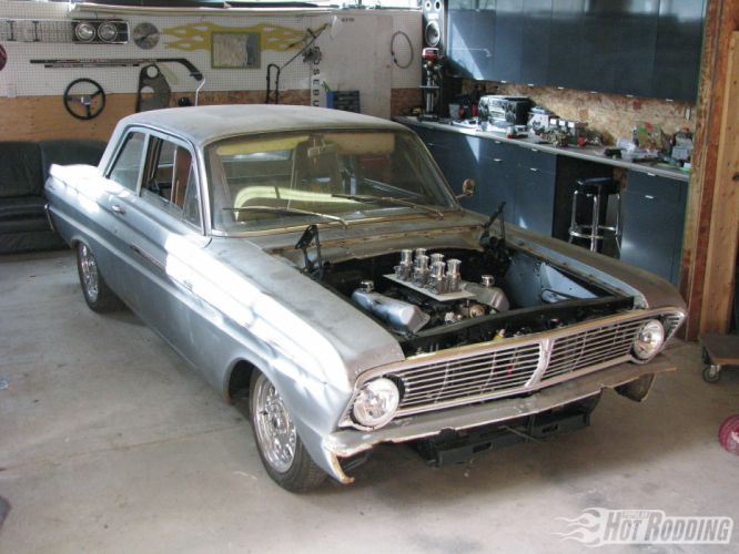 Ford Falcon muscle classic hot rod rods engine d wallpaper