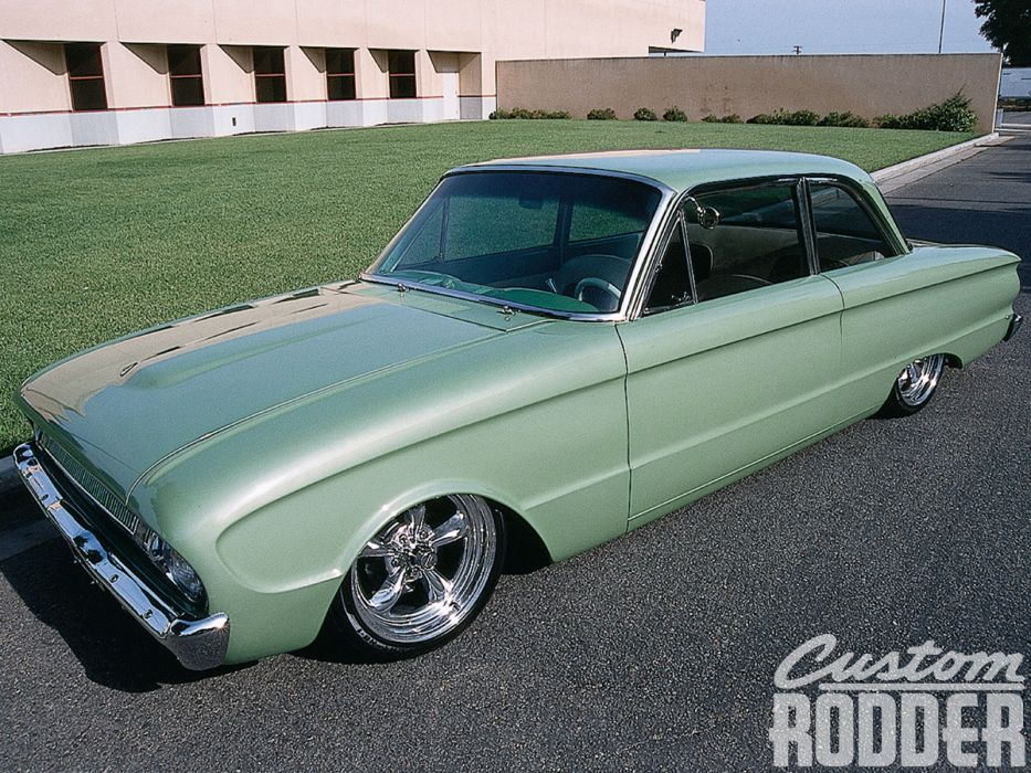 Ford Falcon muscle classic hot rod rods lowrider        f wallpaper