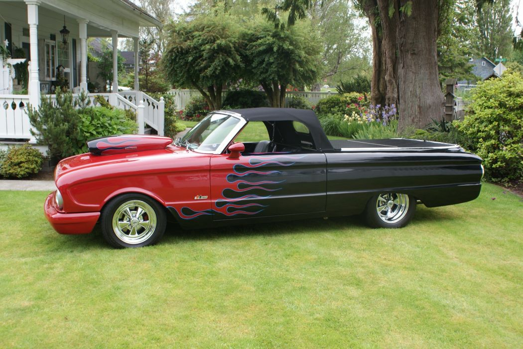 Ford Falcon muscle classic ranchero pickup      f wallpaper