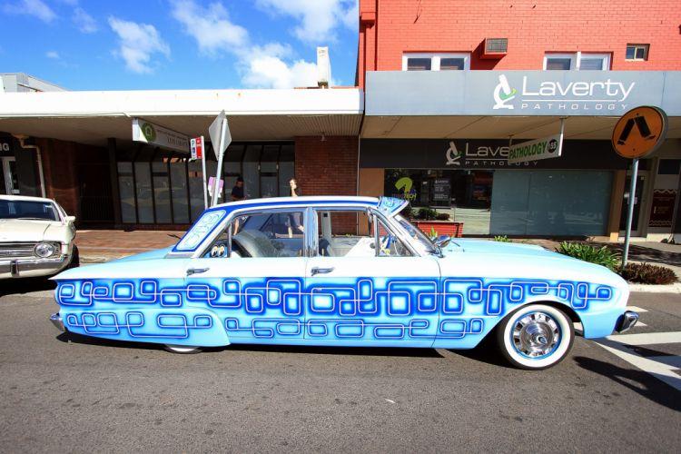 Ford Falcon muscle classic lowrider custom f wallpaper