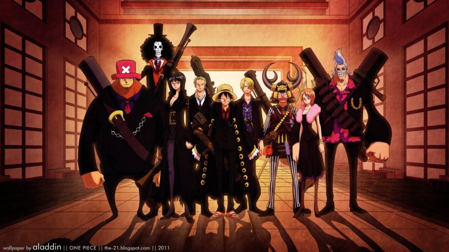 One Piece (anime) Nico Robin Roronoa Zoro chopper Brook (One Piece) Monkey D Luffy Nami (One Piece) Ussop wallpaper