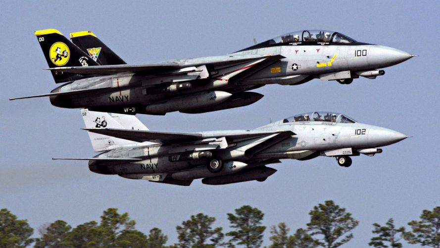 aircraft military US Navy F-14 Tomcat fighter jets wallpaper