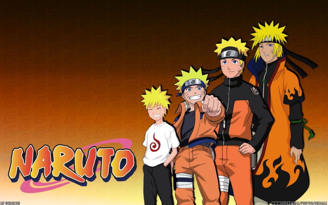 Naruto: Shippuden Yondaime Minato Namikaze Uzumaki Naruto wallpaper