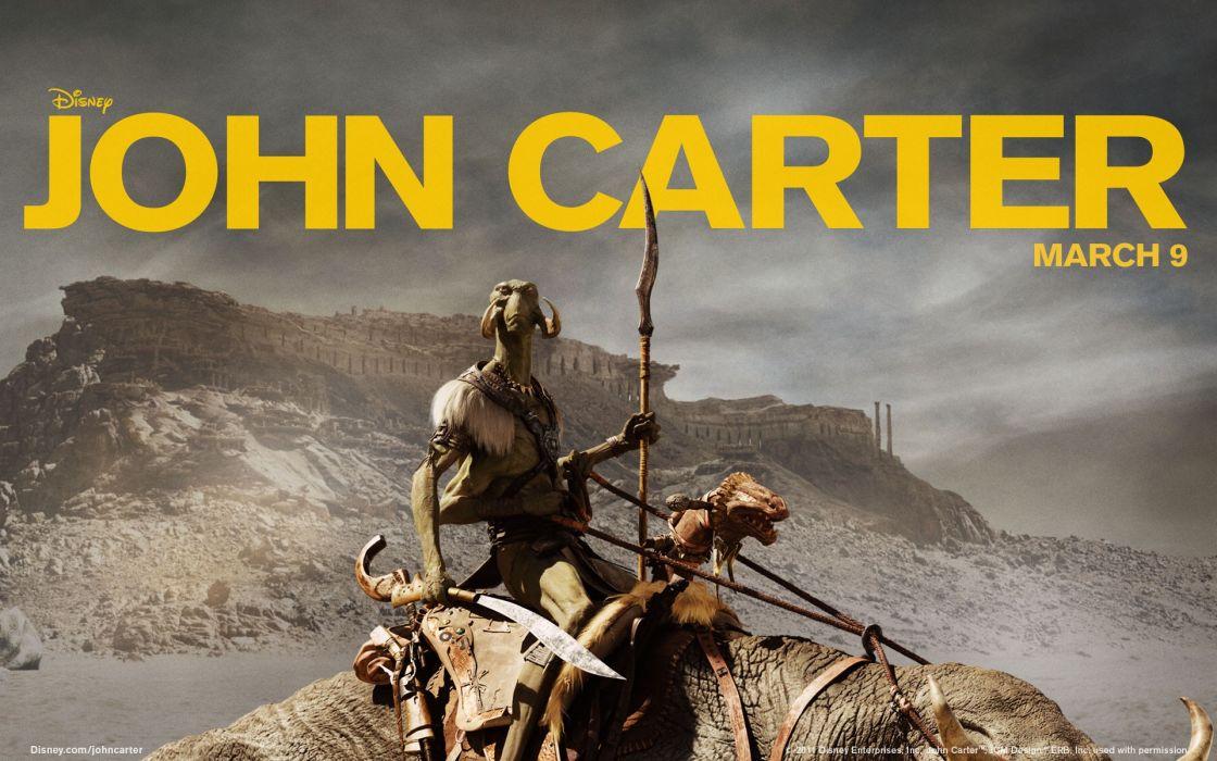Disney Company movies John Carter wallpaper