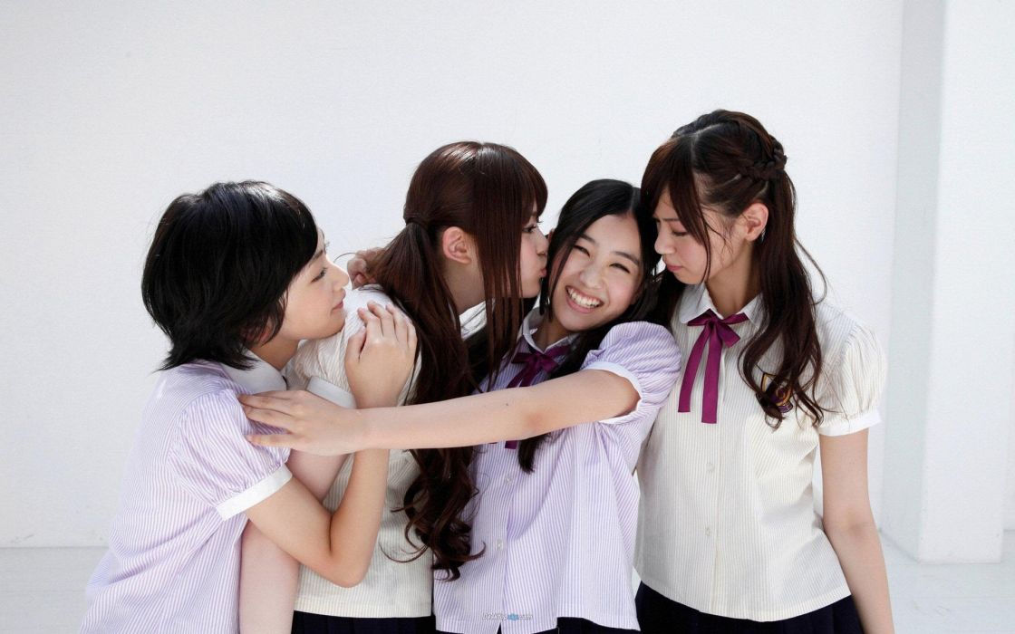 women Japan models school uniforms groups Japanese Asians popular JAV Idols Nogizaka wallpaper