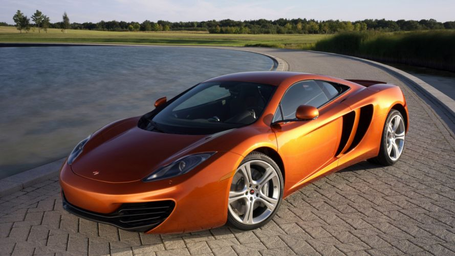 cars vehicles MP4-12C wallpaper