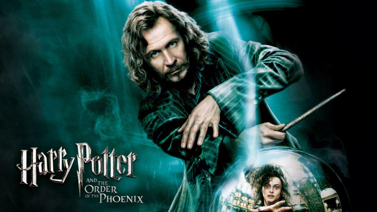 Harry Potter and the Order of the Phoenix Gary Oldman Sirius Black Bellatrix Lestrange wallpaper