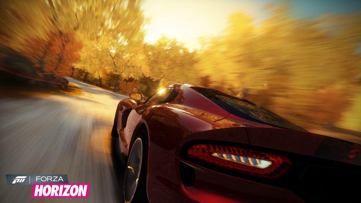 video games cars Xbox 360 Dodge Viper GTS Forza Horizon wallpaper