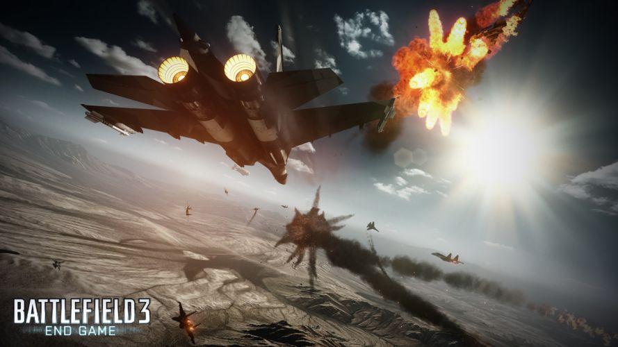 video games jet aircraft DLC Battlefield 3: End game End Game wallpaper