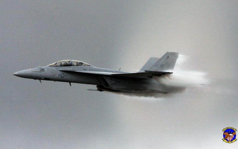 aircraft military F-18 Hornet wallpaper