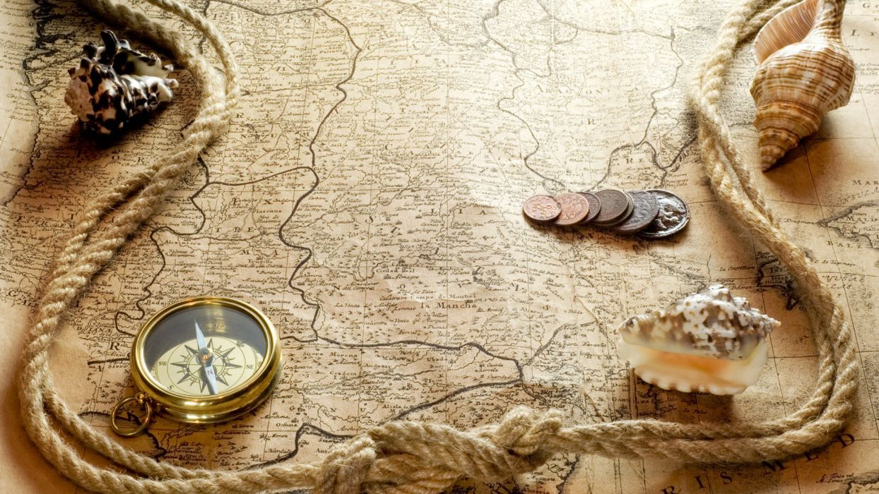 maps compasses old map wallpaper