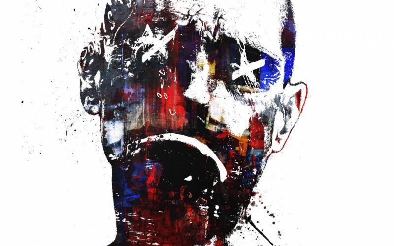 men faces wallpaper