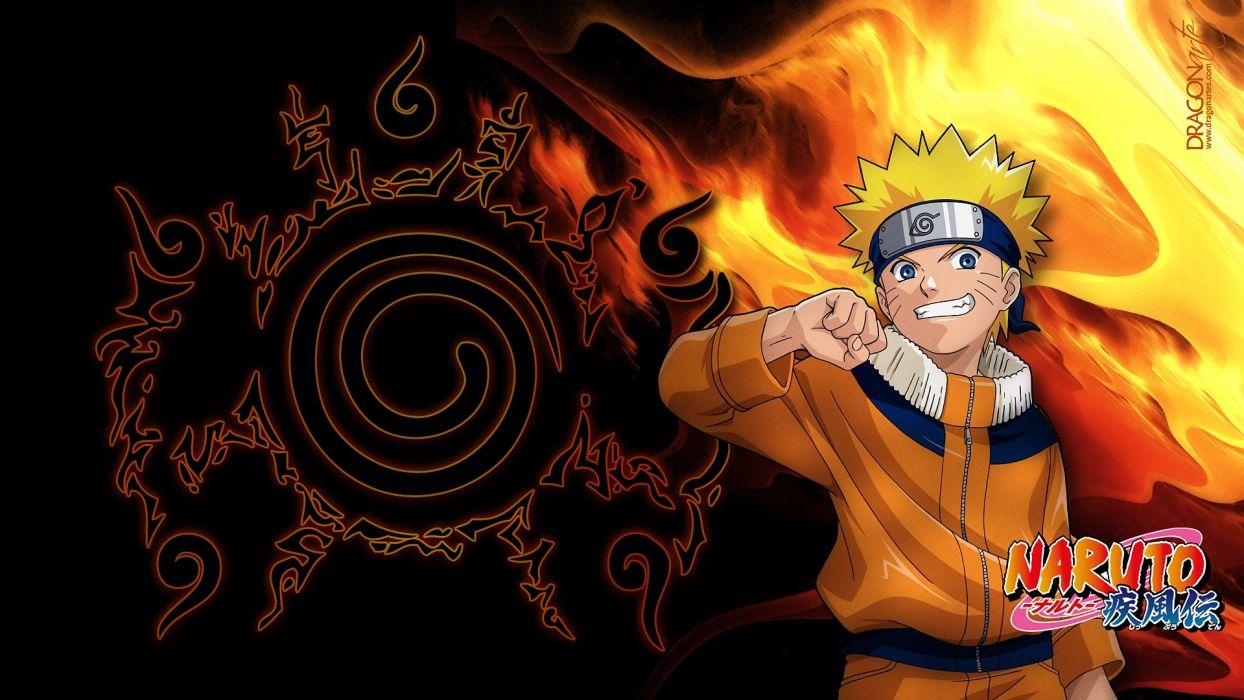 Flames Ninjas Naruto Shippuden Anime Boys Uzumaki Wallpaper