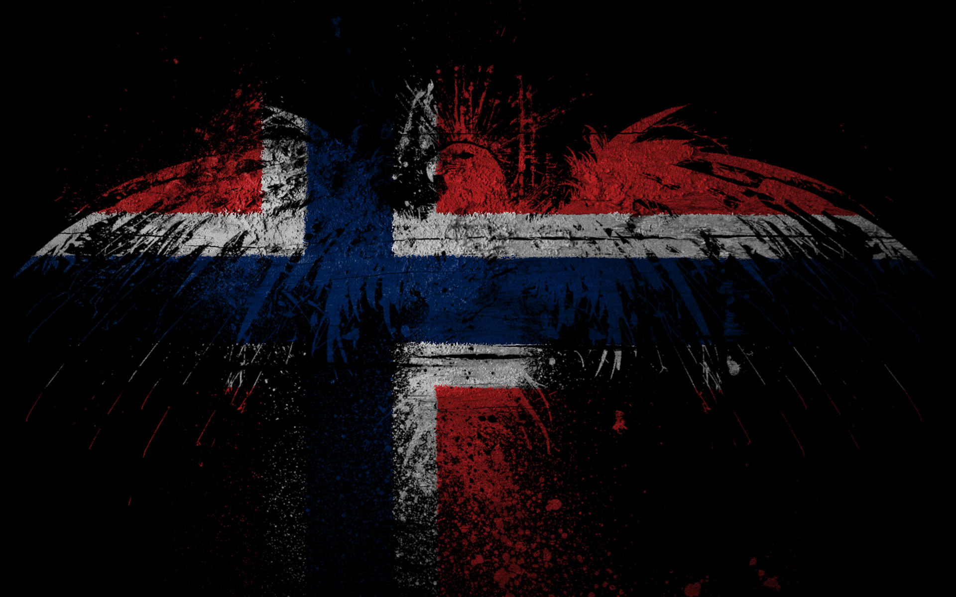 Eagles Norway Flags Wallpaper 1920x1200 188746