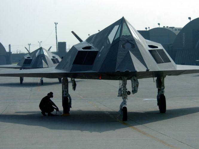 aircraft military Lockheed F-117 Nighthawk wallpaper