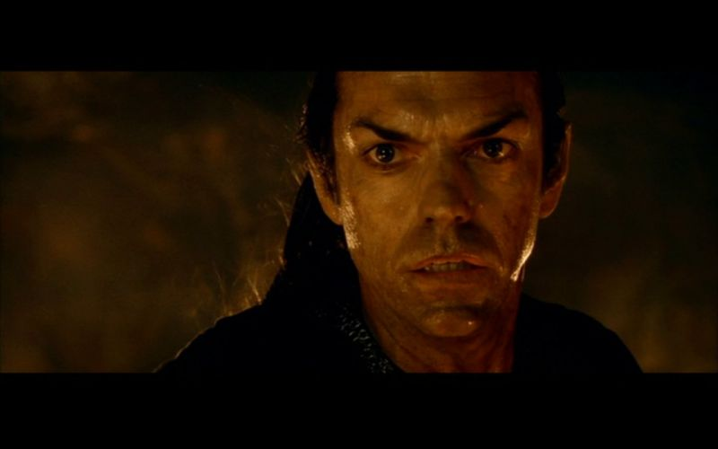 The Lord of the Rings screenshots Hugo Weaving Elrond wallpaper