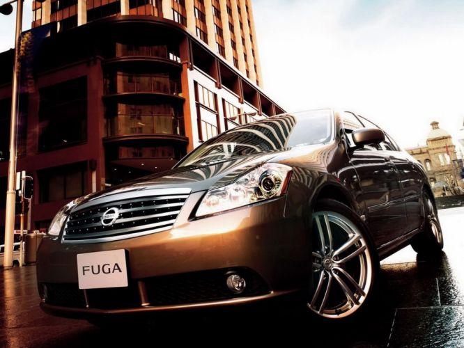 cars Nissan Fuga wallpaper