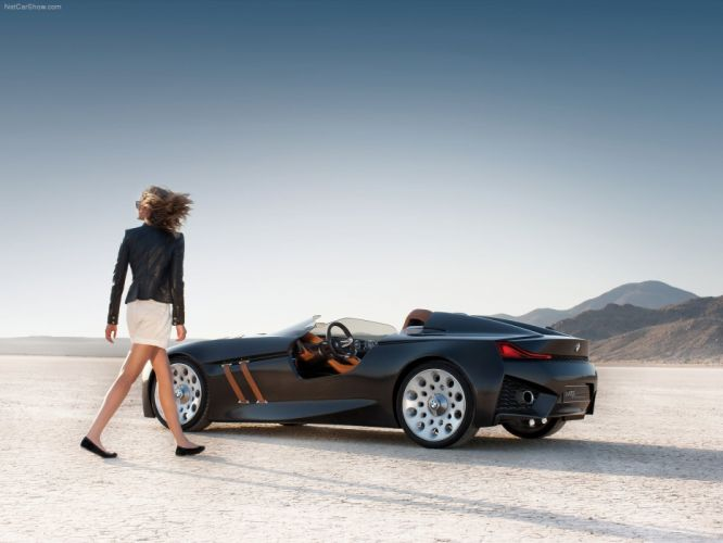 BMW cars euro concept art BMW 328 Hommage wallpaper