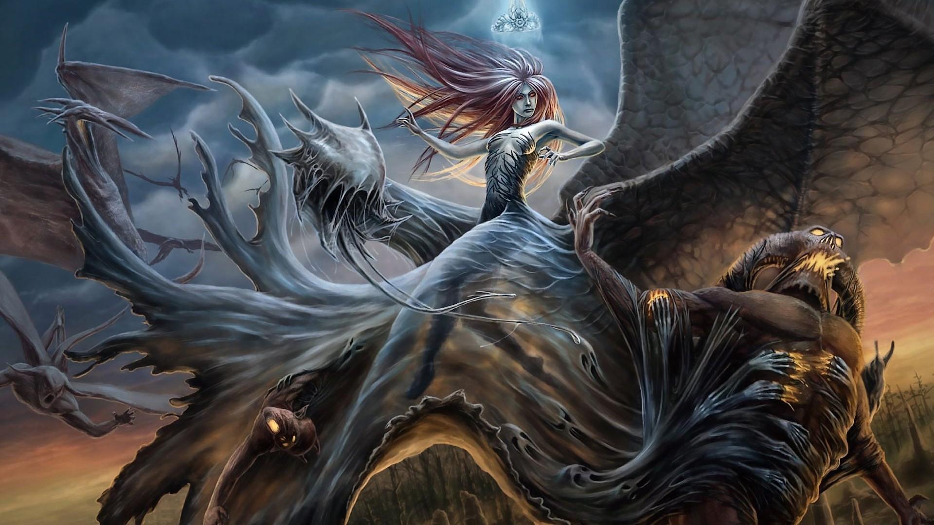 Fantasy art creatures wallpaper | 1920x1080 | 188829 ... - photo#27