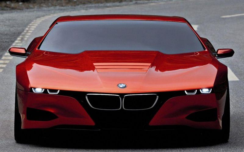 BMW futuristic concept art concept cars sports cars orange cars BMW M1 Future Cars wallpaper