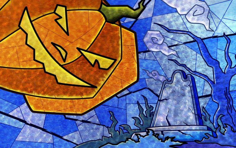 Helloween pumpkins wallpaper