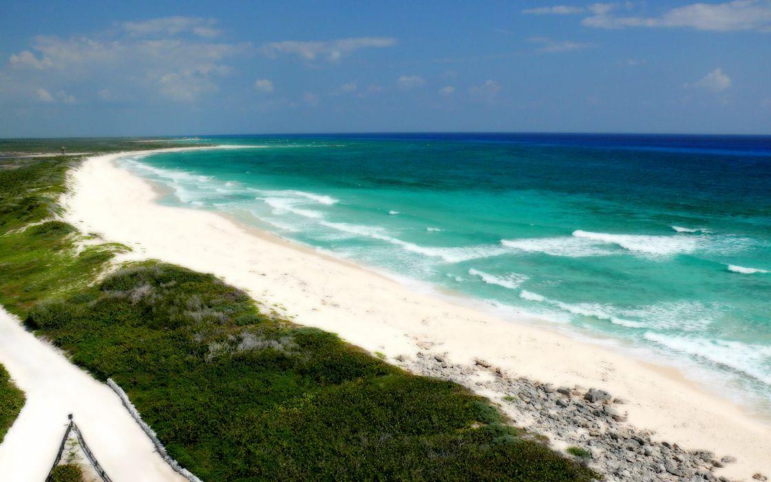 landscapes beaches wallpaper