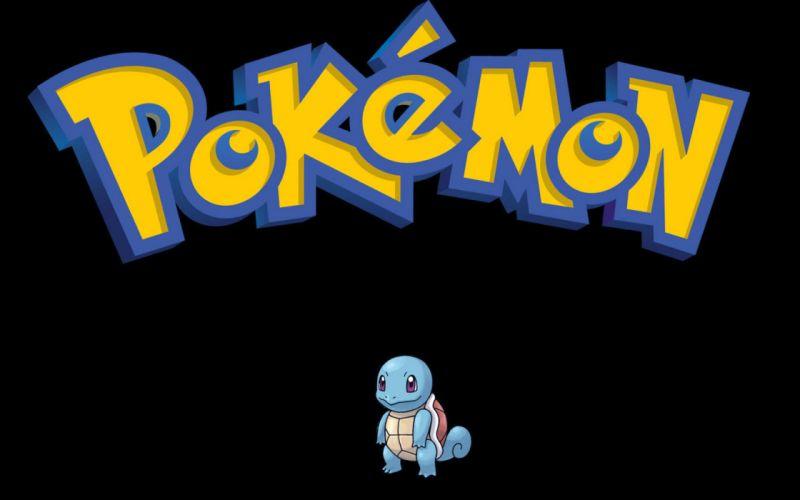 Pokemon Squirtle black background wallpaper
