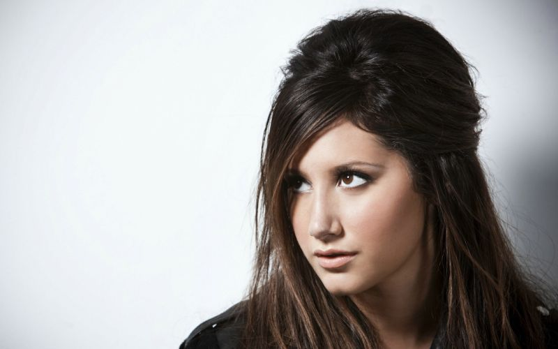 brunettes women actress celebrity Ashley Tisdale singers wallpaper