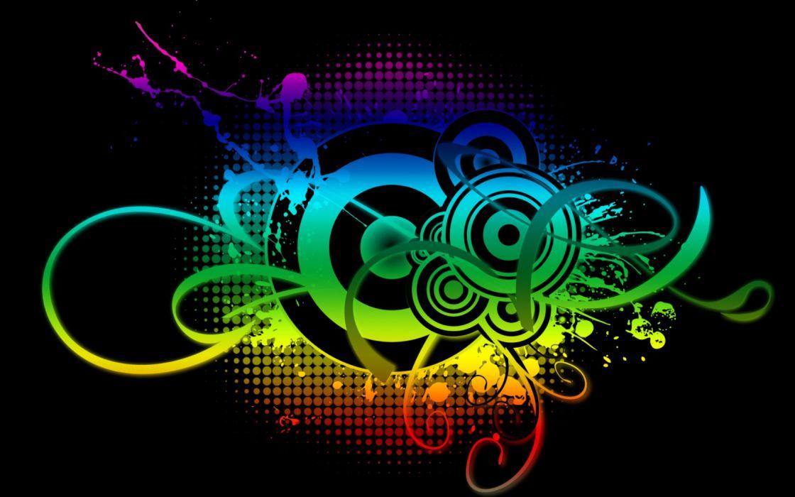 Abstract Music DeviantART Wallpaper