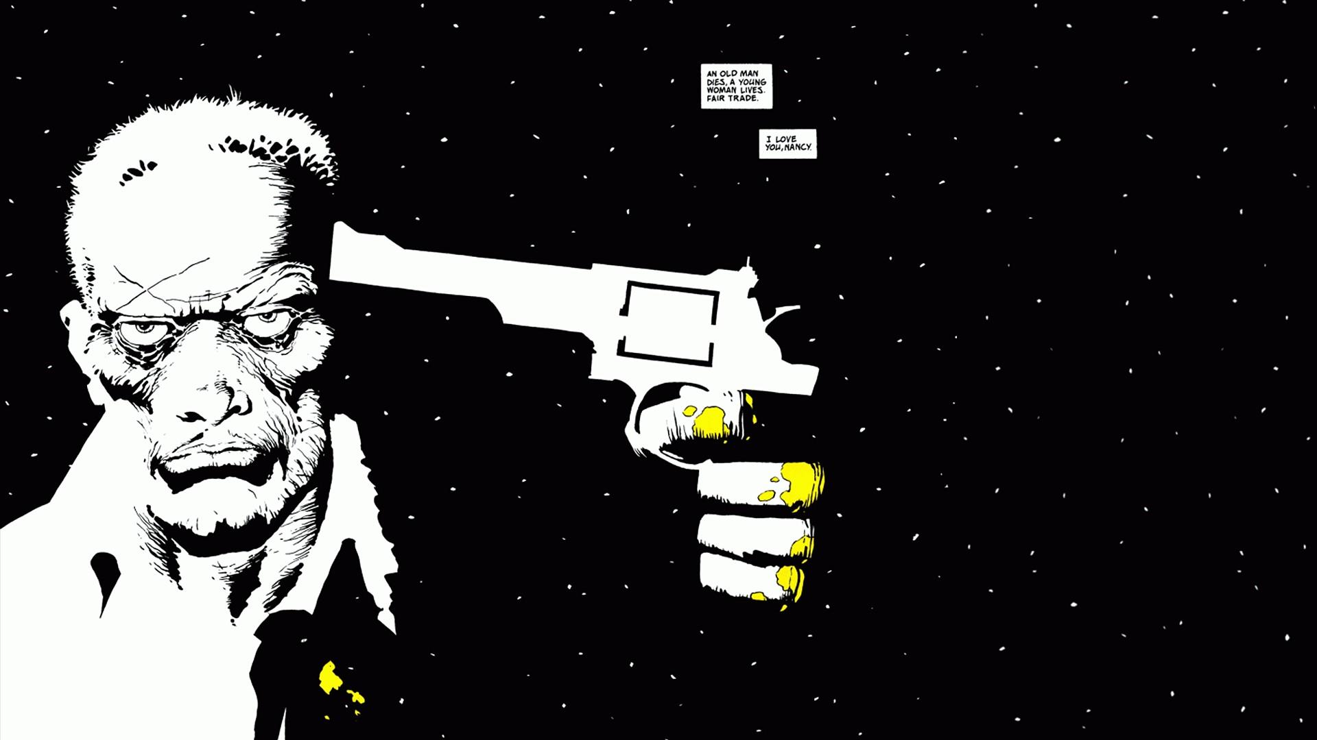 Frank Miller Sin City Wallpaper
