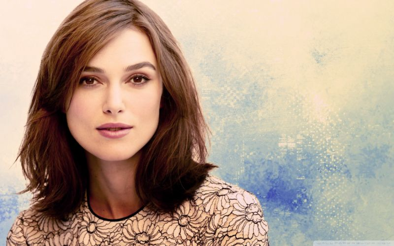 brunettes women Keira Knightley wallpaper