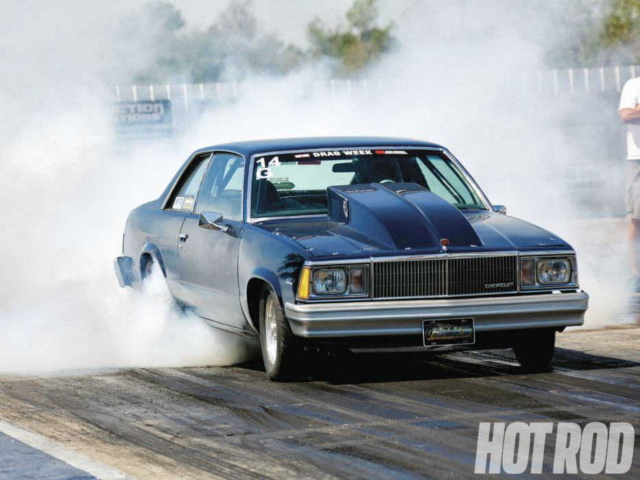 CHEVROLET MALIBU hot rod rods drag racing race    f wallpaper