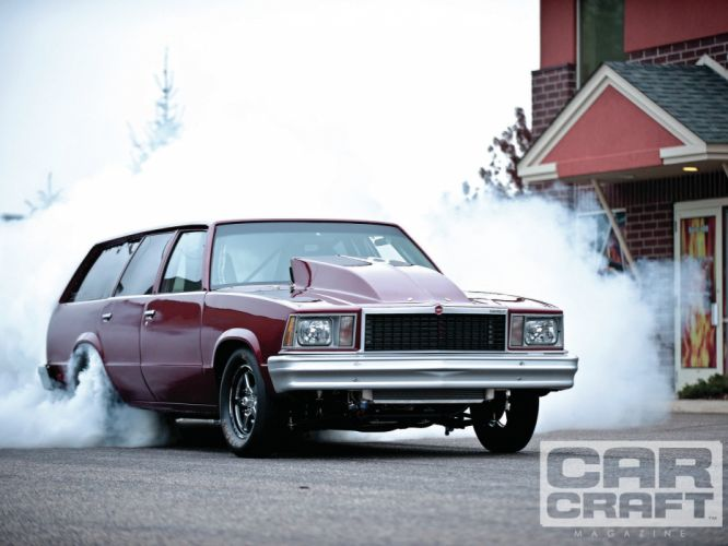 CHEVROLET MALIBU hot rod rods drag racing race stationwagon f wallpaper