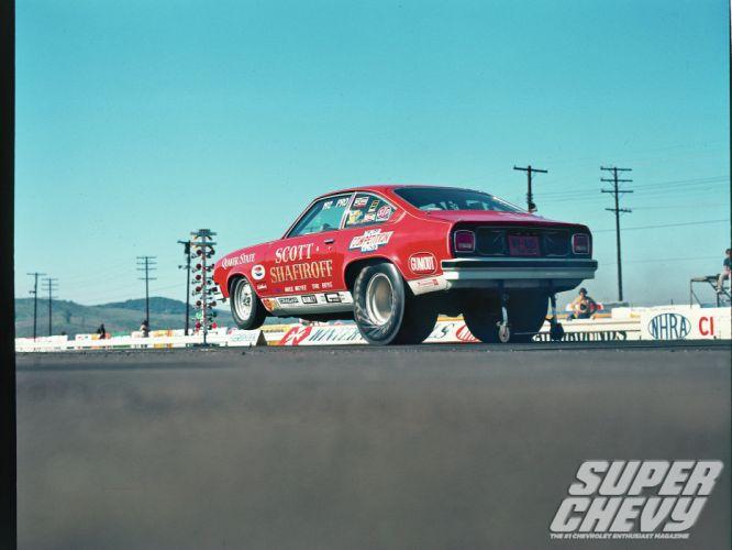 CHEVROLET VEGA classic hot rod rods drag race racing g wallpaper