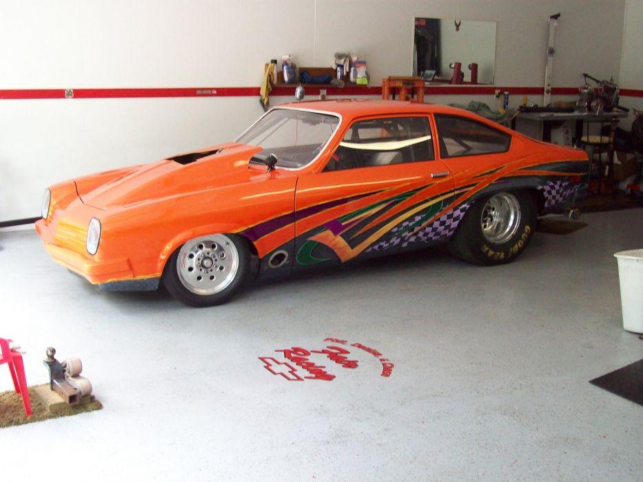 CHEVROLET VEGA classic hot rod rods drag race racing d wallpaper ...