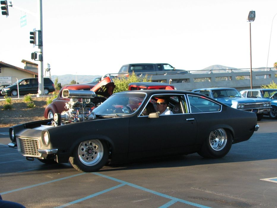 CHEVROLET VEGA classic hot rod rods drag race racing engine g ...
