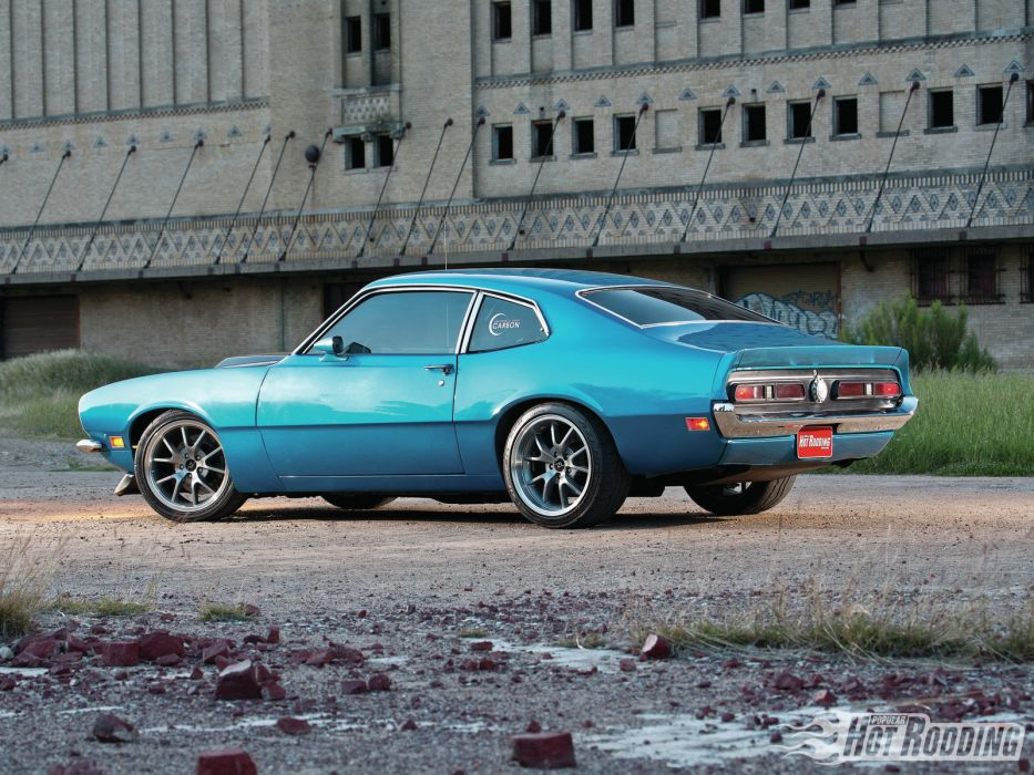 FORD MAVERICK muscle classic hot rod rods     fs wallpaper