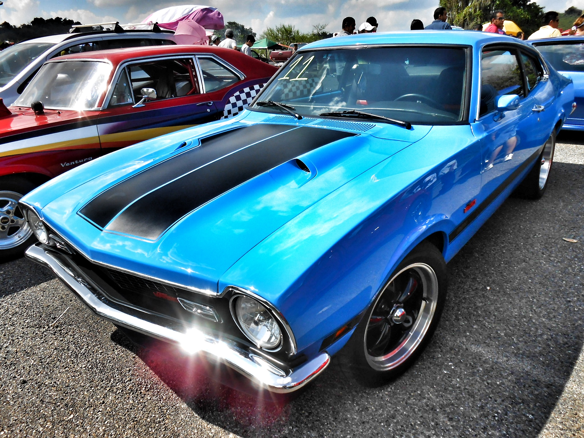 Ford Maverick Muscle Classic Hot Rod Rods N Wallpaper
