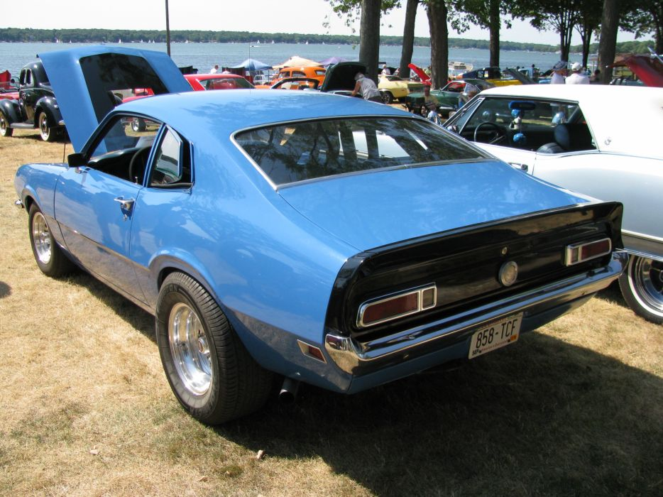 FORD MAVERICK muscle classic hot rod rods    gq wallpaper