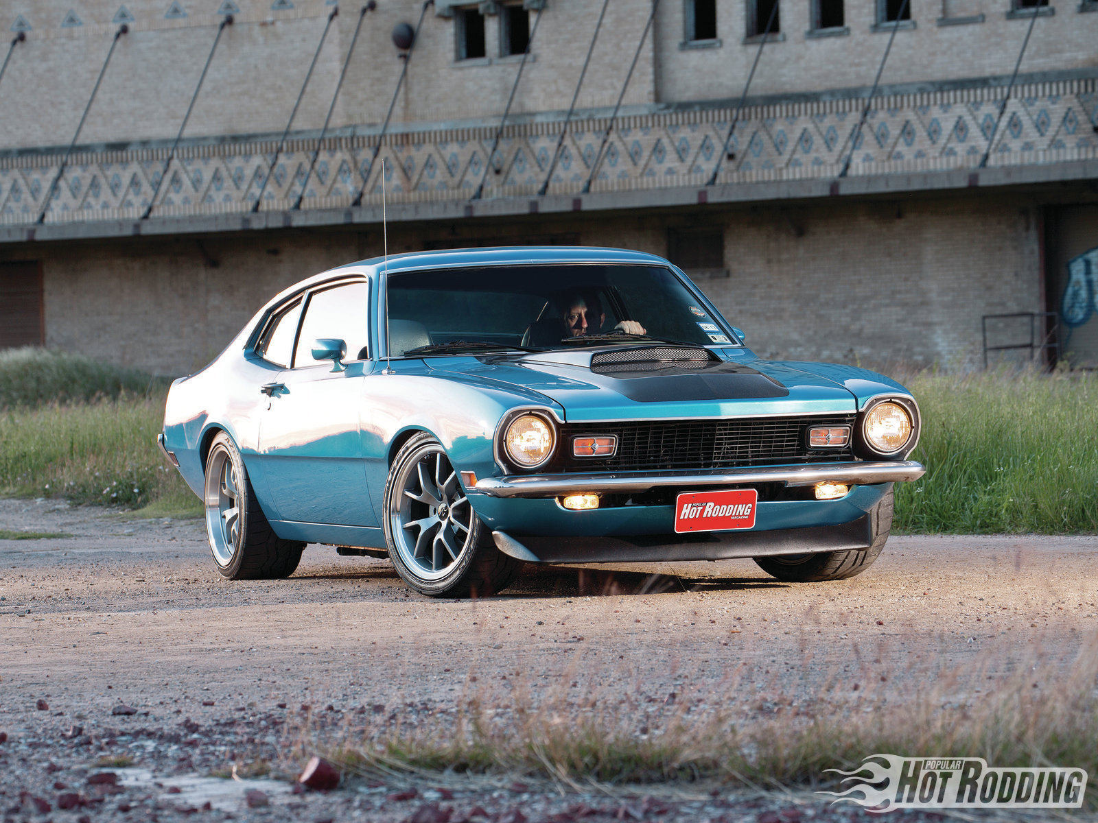 FORD MAVERICK muscle classic hot rod rods gw wallpaper ...