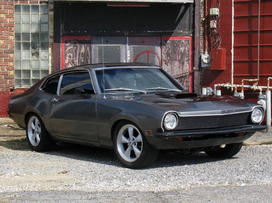 FORD MAVERICK muscle classic hot rod rods  f wallpaper