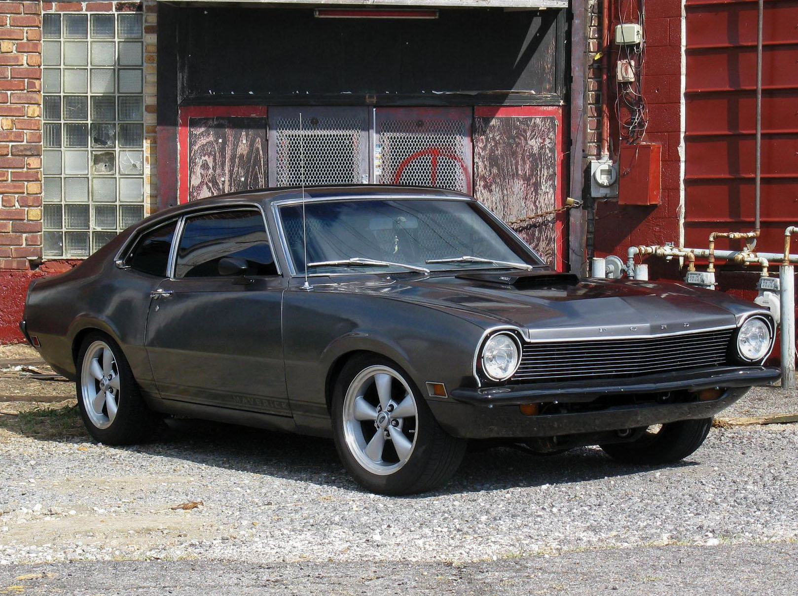 FORD MAVERICK muscle classic hot rod rods f wallpaper background